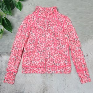 Z Zella Girl Star Print Athletic Activewear Jacket